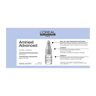 SERIE EXPERT Aminexil Advanced Αμπούλες Για Αριαωμένα Μαλλιά 42X6ml