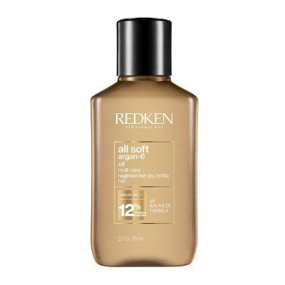 REDKEN All Soft Λάδι Με 6 Μοναδικά Οφέλη Για Αφυδατωμένα Μαλλιά 111ml