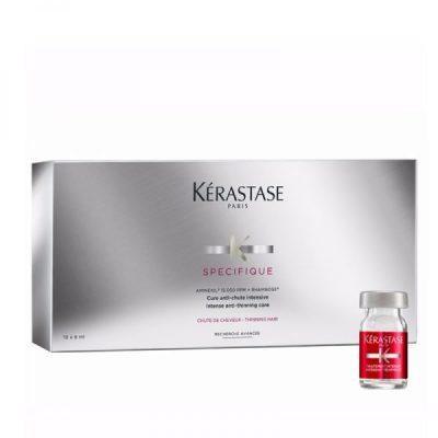 Specifique Aminexil Cure Anti Chute Intensive Θεραπεία Αραίωσης Μαλλιών 10×6 ml
