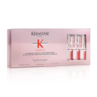 Genesis Cure Ampoules Anti Chute Fortifiant Θεραπεία με Aμπούλες για Περιόδους Εντονης Τριχόπτωσης 10X6 ml