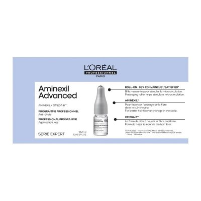 SERIE EXPERT Aminexil Advanced Αμπούλες Για Αραιωμένα Μαλλιά 10X6ml