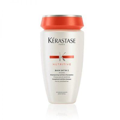 Nutritive Bain Satin 2 Σαμπουάν Θρέψης για Ξηρά Μαλλιά 250 ml