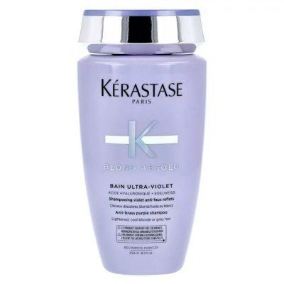 Blond Absolu Bain Ultra Violet Σαμπουάν με Μωβ Χρωστική για Βαμμένα Ξανθά Μαλλιά 250 ml