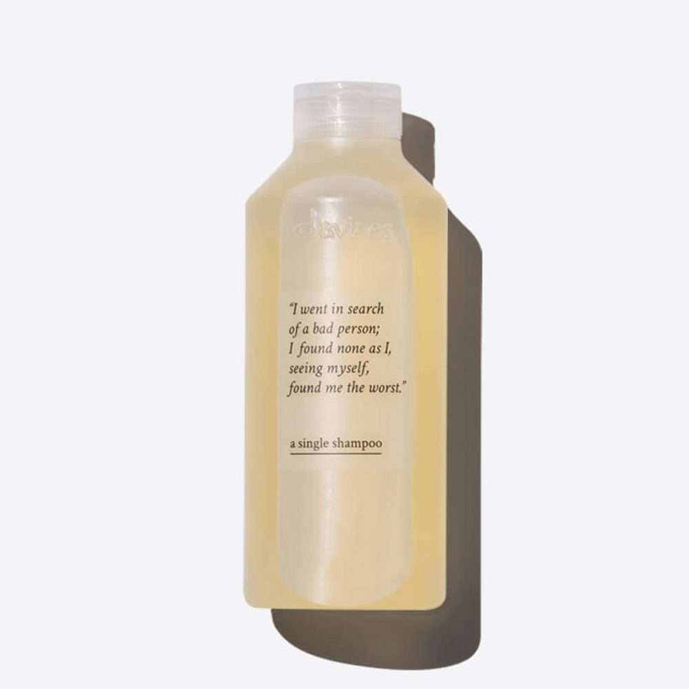 single shampoo 250ml davines