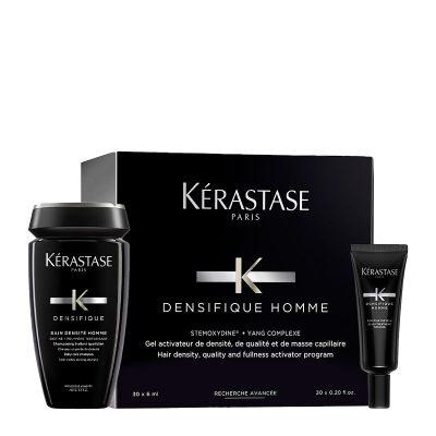 Densifique Bain Densite Homme Σαμπουάν κατά της Αραίωσης για Άνδρες 250 ml και Desnsifique Cure Homme Θεραπεία Αραίωσης Μαλλιών για Άνδρες 30×6 ml