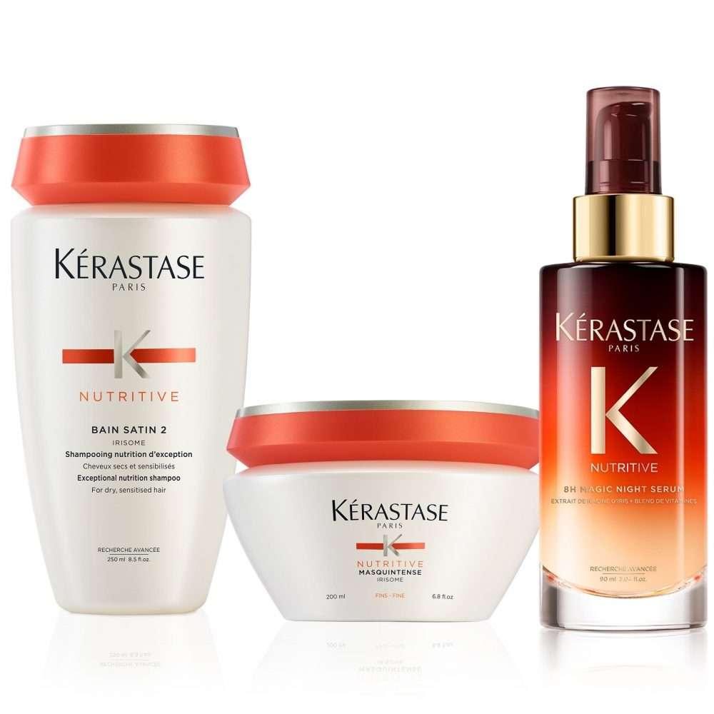 3513 kerastase nutritive moderately dry hair care set v01