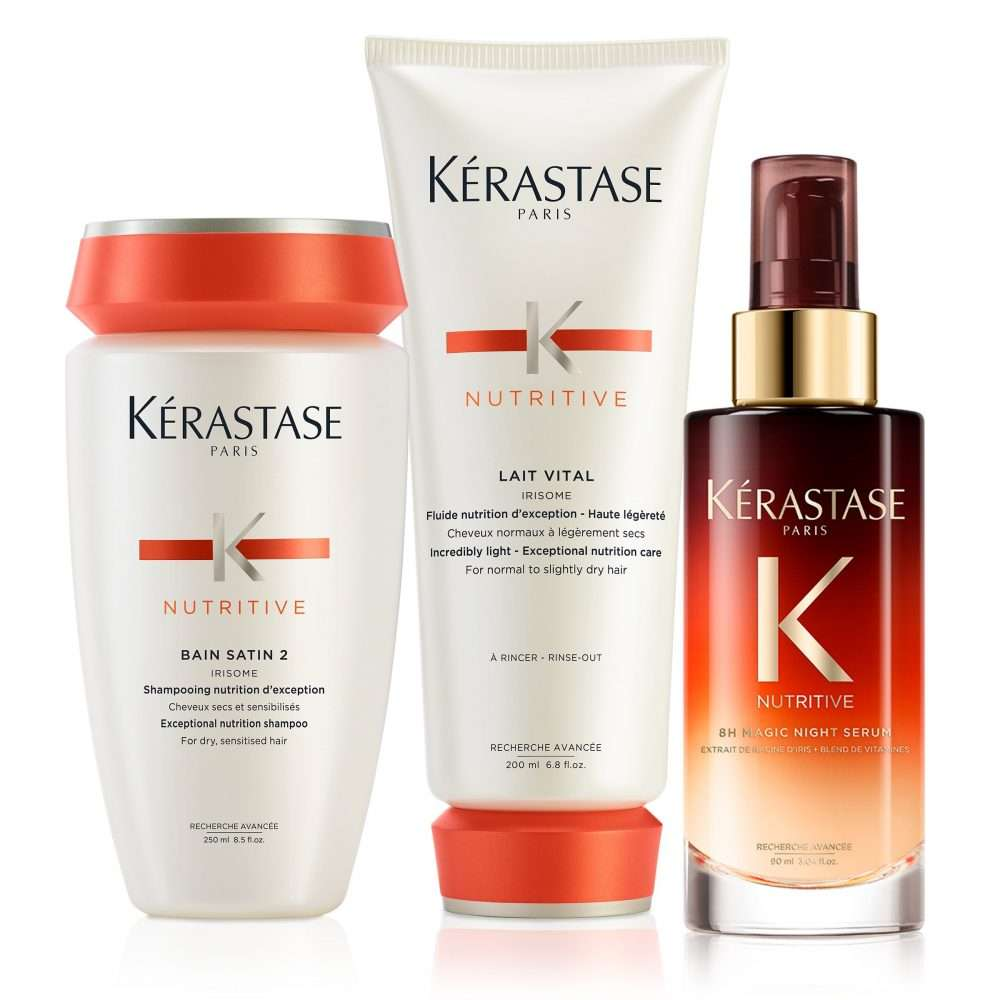 3514 kerastase nutritive slightly dry hair care set v01