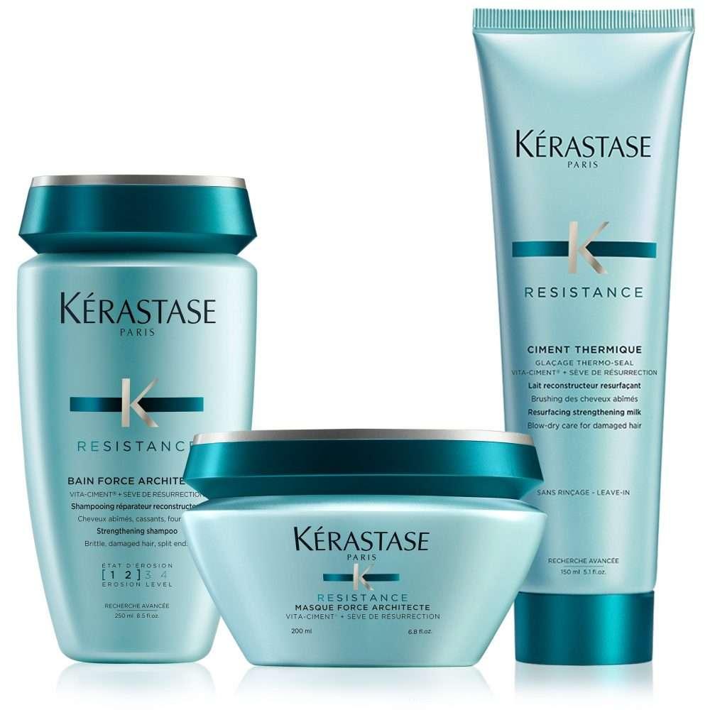 3516 kerastase force architecte damaged hair deep treatment hair care set v01 2